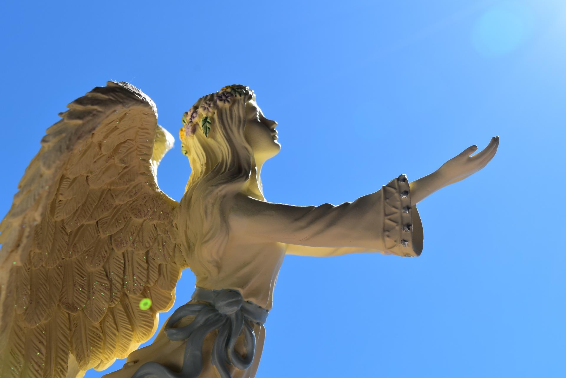 天使と青空