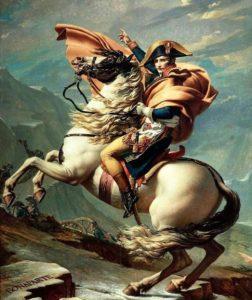 馬に乗ったナポレオンの画像